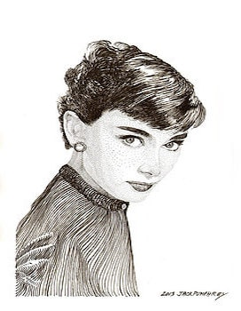 Audrey-Hepburn-Drawing